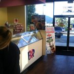 BR ice cream parlor banner